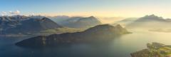 Foggy light (Freddy Enguix) Tags: alps blue fog freddyenguix hotel lake light lucerne luzern mist mountain pano panorama panoramic pilatus rigi sky summer sunset swiss switzerland warm