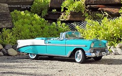 1956 Chevrolet Bel Air Convertible (JCarnutz) Tags: 124scale diecast danburymint 1956 chevrolet belair