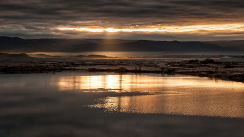 Iceland - Sunrise at Lake Mývatn II