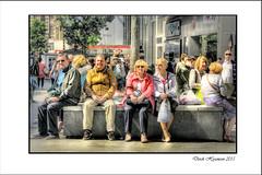 SUNNY SATURDAY (Derek Hyamson (5 Million views)) Tags: people liverpool cool candid saturday sunny churchstreet hdr