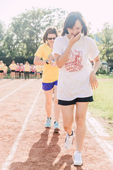 2015 (FRESHiT) Tags: life city blue school summer sky people game sports race fun happy photography photo good group taiwan competition running run daily line company chiayi relay  vaction finishing   skm   goodday       vsco   vscocam  lementary