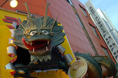 Dotonbori dragon Osaka