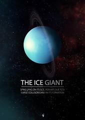 Uranus (JasonWStanley) Tags: photoshop graphicdesign galaxy bbc posters planets uranus solarsystem briancox wondersoftheuniverse creativemondays