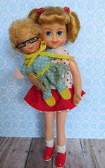 Buffy & Mrs. Beasley (Foxy Belle) Tags: family vintage tv doll dolls character barbie collection beasley buffy mrs affair tutti