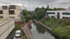Digbeth Branch Canal - towards Jennens Road (ell brown) Tags: greatbritain trees england tree mobile birmingham unitedkingdom crane lock lg canals cranes locks mobileshots eastside westmidlands towpath digbethbranchcanal dartmouthmiddleway jennensrd eastsidelocks birminghamscienceparkaston heneagestwest ashtedlocks holtcourt lgg3 ashtedtoplock jennensroadbridge