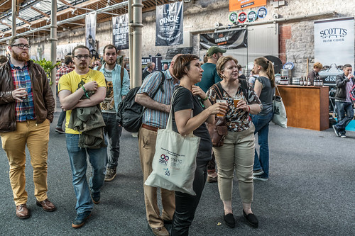 IRISH CRAFT BEER FESTIVAL IN THE RDS LAST WEEKEND IN AUGUST 2015 [SONY A7R MkII] REF-107272