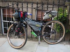 2015 Surly Ogre Round the World Singlespeed Bike (reizkultur) Tags: bike halo surly touring markus ogre grips esi singlspeed bikepacking stitz bikemonger spokwerks apidura