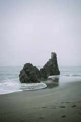 Fog and Rock