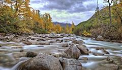 Fall Rocks (jack4pics) Tags: fall alaska river rocks newsnow lilsu