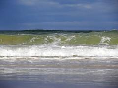 115. Surfing Waves (GraynKirst) Tags: blue sea sky cloud beach water clouds coast scotland seaside surf waves aberdeenshire wave shore northsea swells seagreen stcombs grahamjarman