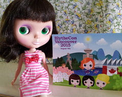 We just came back from Europe and found this BlytheCon postcard in our mailbox. Thank you very much Sara & Edna! xxx