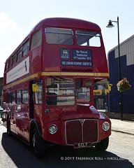 Routemaster RM1005 (© Freddie) Tags: london bermondsey se1 lbsouthwark oldjamaicaroad queens warmemorial rededicationqueensmemorial routemaster rm1005 bus 5clt londontransport doubledecker ltroutemaster built1962 tfl sirpeterhendrycbe poppy fjroll ©freddie