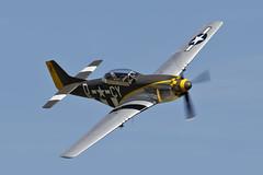 North American TF-51D Mustang - 1 (NickJ 1972) Tags: day aviation duxford practice mustang cyd p51 northamerican 2015 flyinglegends tf51 missvelma nx251rj