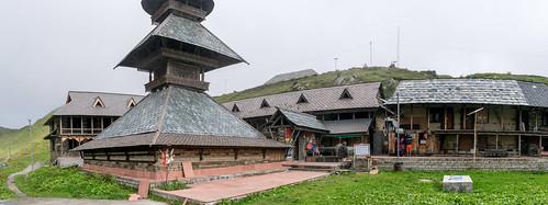 Prashar temple panorama