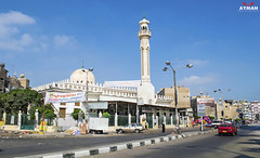 . (Ayman Abu Elhussin) Tags: street old city art tourism architecture wonderful photography lights town photo big flickr cityscape shot god outdoor islam prayer egypt mosque portsaid arab ramadan maryam  alla  favorit     masjed 2015   misr                portfouad   ayman6681 saadzaghlol  6681   aymanabuelhussin