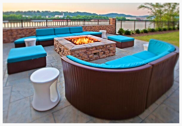 Custom HPC Fire Pit, Chattanooga, Tn.