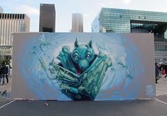 FAT HEAT (Brin d'Amour) Tags: graffiti 92 ladéfense brindamour fatheat undergroundeffect projetsaato