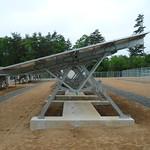 手動式傾斜角可変架台の写真