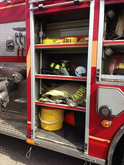 Toronto Fire (GTA Emergency_Photography) Tags: toronto truck fire bucket line equipment tape axe p 132 pumper p132