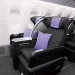 航空機座席の写真