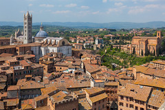 Terra Cotte Views - Italy, Sienna (Nomadic Vision Photography) Tags: italy medieval unescoworldheritagesite historical siena viewpoint oldtown tuscanny jonreid sienacathedral terracotte tinareid nomadicvisioncom