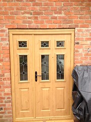 Solidor Nottingham (The Nottingham Window Company) Tags: door nottingham windows irish black window french handle oak doors leicester 4 gothic company tenby derby stanton offset the in wolds conservatories solidor