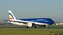 AIRBUS A320-211 / AIR MOLDOVA / ER-AXV (✈ Cédric ✈) Tags: planespotting aéroport bva lfob beauvaistillé