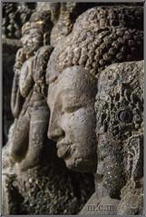 Cuevas de Ellora - imagen de BUDA (Fotocruzm) Tags: india asia buda aurangabad patrimoniomundialdelahumanidad hinduista rupiaindia fotocruzm mcruzmatia cuevasdeellora religinhinduista rashtrakutta grutabudista estadodemaharashtra