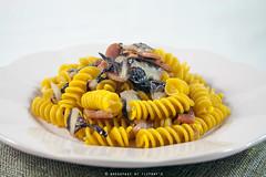 IMG_3957_ok (francescamariabattilana) Tags: pasta speck radicchio zafferano