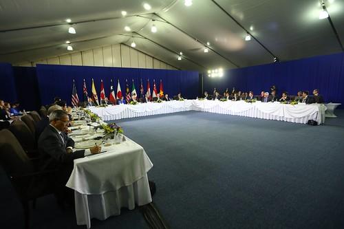 Reunión de dignatarios de países que conforman el Acuerdo Transpacífico (TPP) se desarrolló en Manila (Filipinas) con participación del presidente Ollanta Humala