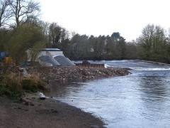 Hydroelectric power (Phil Gayton) Tags: uk river energy power devon dart renewable weir tresco hydroelectric totnes
