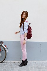 likeabyul_pastel_2 (Likeabyul) Tags: paris fashion french asian couleurs pastel stripes chinese bikes style korean hm asiangirl babyblue lookbook asos rayures streetstyle babypink ootd zipia