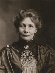 Emmeline Pankhurst, c.1910.