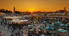 Mezquita Kutubia (arg264) Tags: africa de atardecer la rojo nikon el mosque unesco marrakech medina mezquita arg marruecos ocaso kutubia humanidad patrimonio fna imperio djemaa jamaa almorvides islmico d7000 antonioruiz arg264