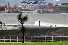 Playa de San Lorenzo (omar suarez asturias) Tags: españa paisajes spain go asturias playa gijon playasanlorenzo la21