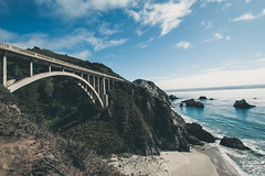 Big Sur (CoellnerPhotography) Tags: ocean california bridge sea sky usa mountains nature canon 1 coast big highway meer wasser pacific natur wideangle berge number 101 sur brücke kalifornien weitwinkel 70d eos70d