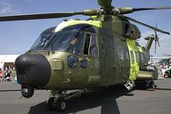 Denmark Air Force - Agusta-Westland EH-101 Merlin M-509 @ Fairford (Shaun Grist) Tags: airport aircraft aviation airshow airline merlin aeroplanes agusta fairford avgeek fairfordairshow m509 denmarkairforce