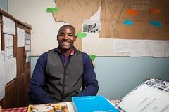 Alex Masiwahu | Grades 5-7 | Abraham Gariseb Primary School (Dan Love) Tags: portrait teacher namibia ehra abrahamgarisebprimaryschool elephanthumanrelationsaid