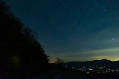 Geminid on the BRP (Michael Kline) Tags: bedford virginia december blueridgeparkway meteor geminid 2015 meteorshower