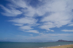 Altostratus clouds, over Townsville. From Pallarenda, QLD, 30/11/15 (Russell Cumming) Tags: cloud queensland castlehill townsville altostratus pallarenda