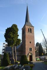 Sint-Stefanuskerk, Melsen (Erf-goed.be) Tags: geotagged kerk oostvlaanderen merelbeke melsen archeonet sintstefanuskerk geo:lat=509579 geo:lon=36936