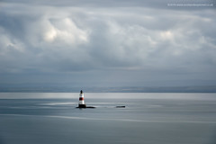 Oxcars Lighthouse (Damon Finlay) Tags: nikon d750 nikond750 nikkor 80200mm f28 nikkor80200mmf28 long exposure longexposure lee big stopper leebigstopper coast seascape cloud movement cloudmovement firth forth firthofforth scotland oxcars lighthouse oxcarslighthouse