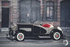 1935 Duesenberg (lemcong91) Tags: hobby vehicle minicars diecast classiccars duesenberg racingchampions 164 backround film minhcong