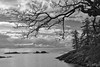 View from Tower Point (johnscratchley) Tags: landscape blackandwhite monotone hdr vancouverisland metchosin