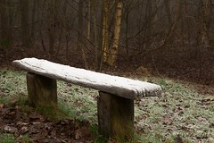 Take a seat II (Andy Cash) Tags: 2016 andycash fenotn frost lido parks smithpool smithpoolpark unitedkindom fog frozen mist morning