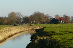 rural East Frisia in December (achatphoenix) Tags: rural eastfrisia december dezember winter village water wasser inexplore