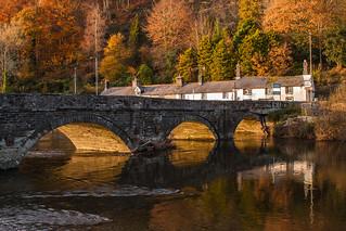 Pont Ar Ddyfi - (Dyfi Bridge), Machynlleth.