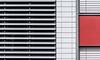 minimal urban facade V (Lunor 61) Tags: abstrakt minimal minimalismus minimalistic urban city facade fassade linien lines symmetry symmetrie grey grau red rot abstract ireneeberwein architektur architecture