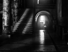 Una parola di luce (Soloross) Tags: blackandwhite architecture church florence rays silence light luce texture bellezza beauty art arte