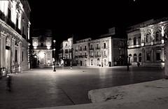 Night in Ortigia (sarabiolcati1) Tags: sicily blackandwhite d3200 nikon italy ortigia siracusa